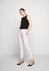 HUGO - HAZENA - Trousers - natural - 1