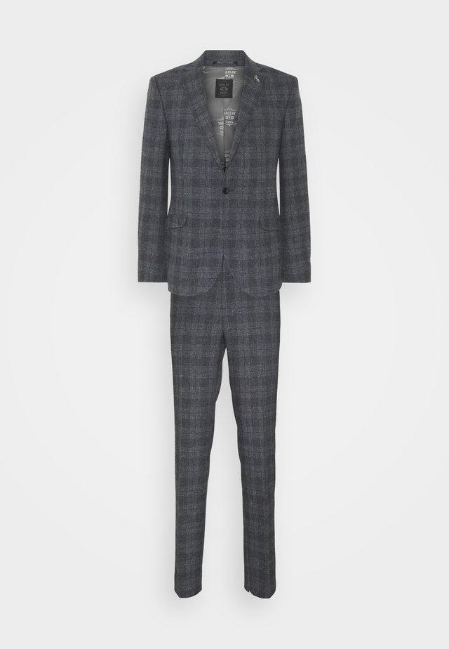 WASHINGTON SUIT - Oblek - grey/blue