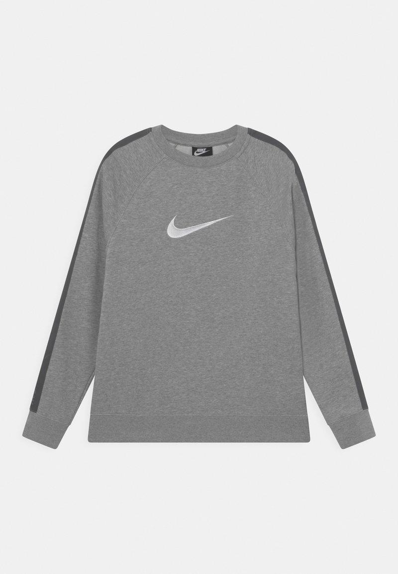 Nike Sportswear - CREW - Sweatshirt - dark grey heather/white