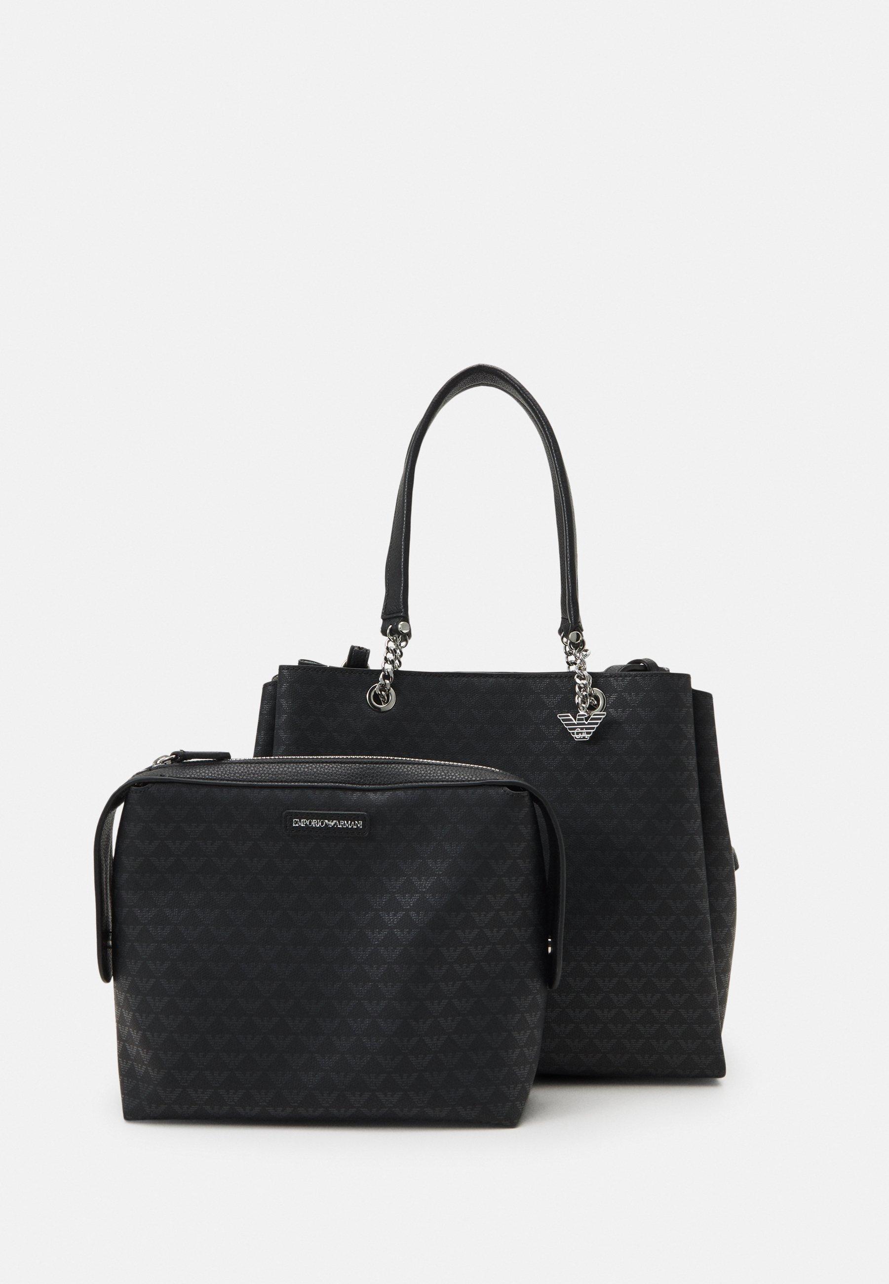 Damen ANNIE TOTE M EAGLE ALLOVER - Handtasche