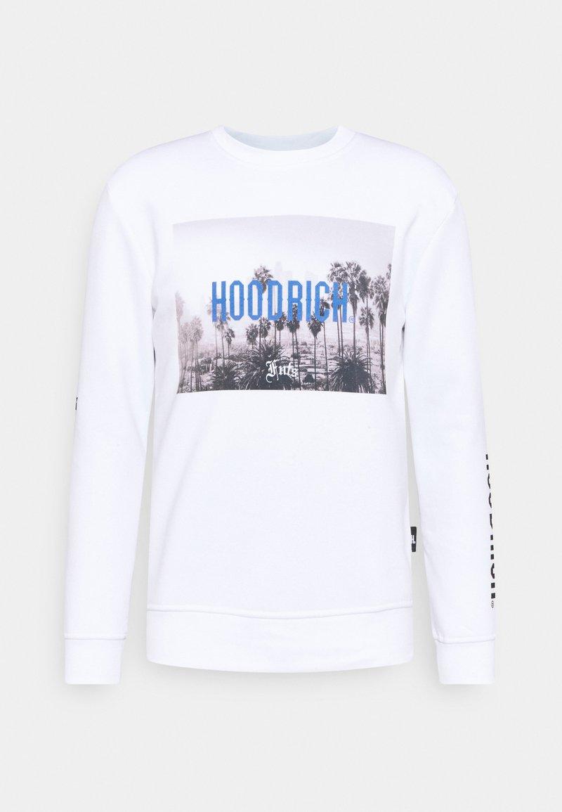 Hoodrich - DREAMING CREW NECK - Sweatshirt - white