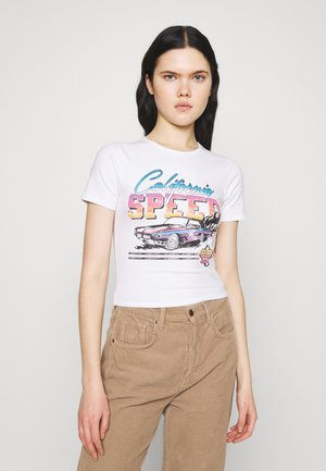 VINTAGE BABY TEE - T-shirts med print - white