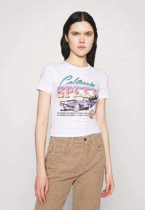 VINTAGE BABY TEE - T-shirt med print - white