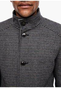s.Oliver BLACK LABEL - Classic coat - dark blue check - 3