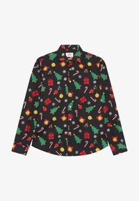 OppoSuits - TEENS CHRISTMAS ICONS - Shirt - black - 2