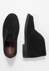 Clarks Originals - DESERT BOOT - Stringate sportive - black - 3