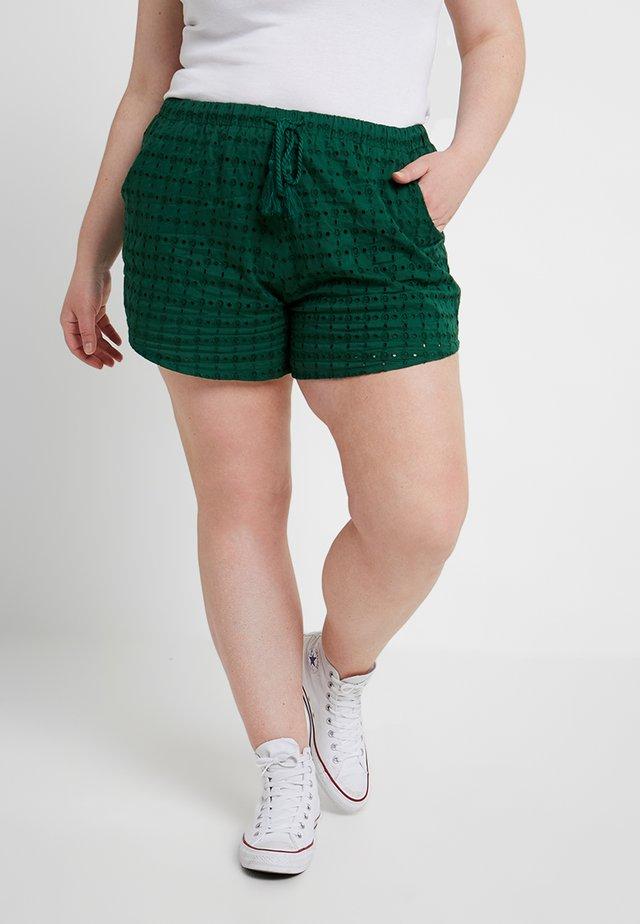 BRODERIE - Shorts - dark green