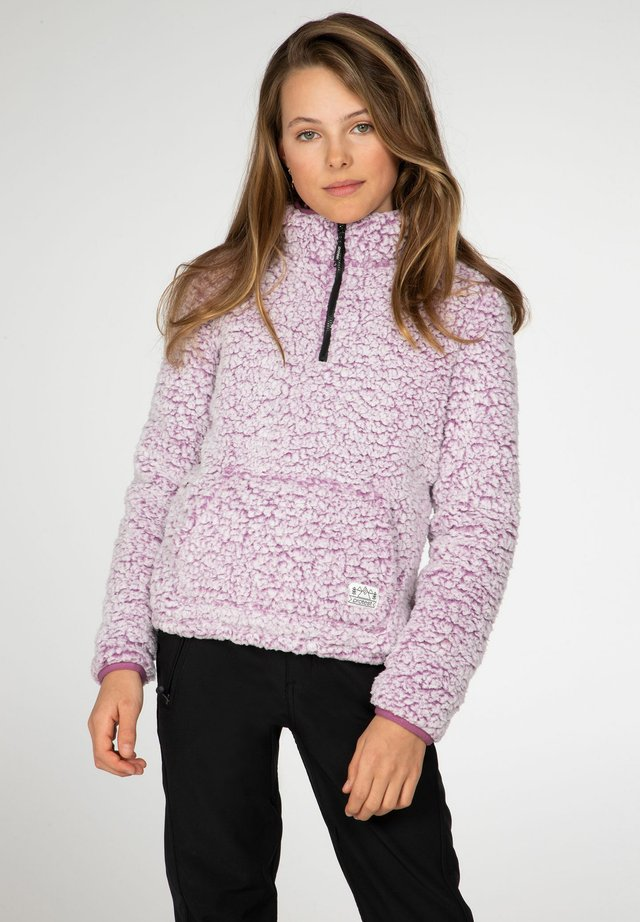 DEMI - Fleece trui - very grape