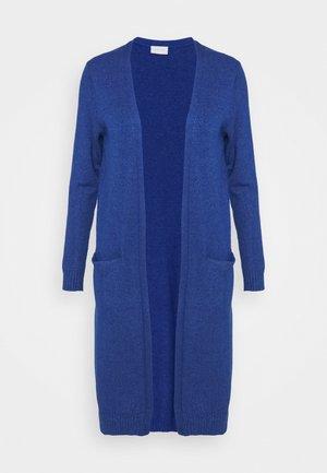 VIRIL LONG - Cardigan - mazarine blue melange