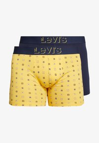 Levi's® - MINI ICON BRIEF 2 PACK - Panty - yellow - 4