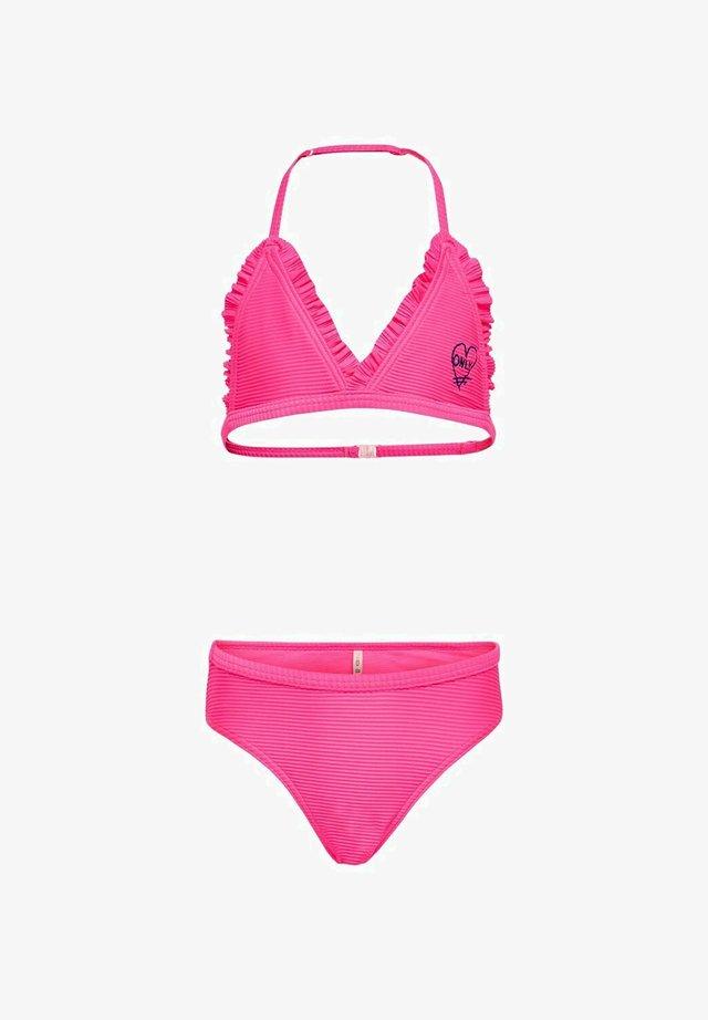 SET - Bikini - knockout pink