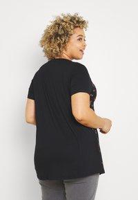 Simply Be - Print T-shirt - black - 2