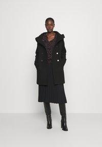 s.Oliver - LANGARM - Classic coat - black - 1