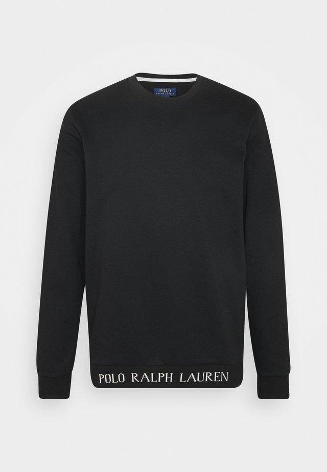 LOOP BACK  - Nachtwäsche Shirt - black guide