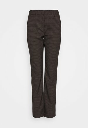 CICELY PANTS - Kalhoty - chocolate brown