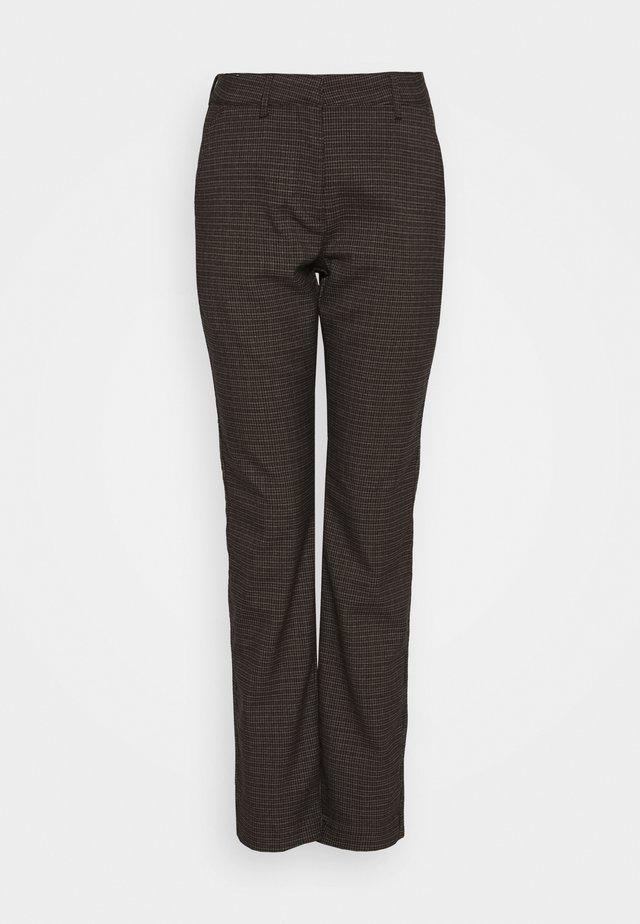 CICELY PANTS - Bukse - chocolate brown