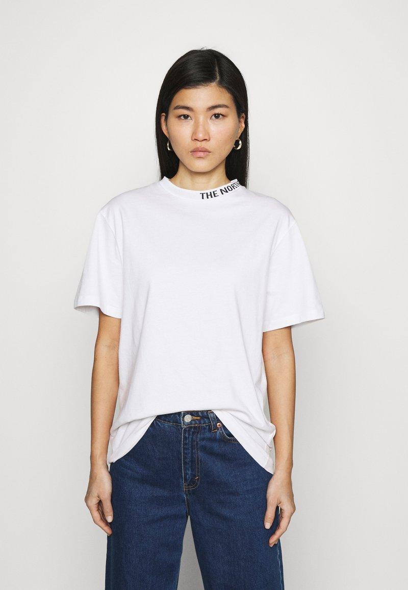 The North Face - ZUMU TEE - Jednoduché triko - white