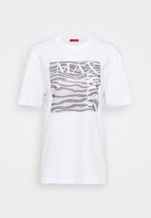 TEEREX - T-shirt imprimé - white