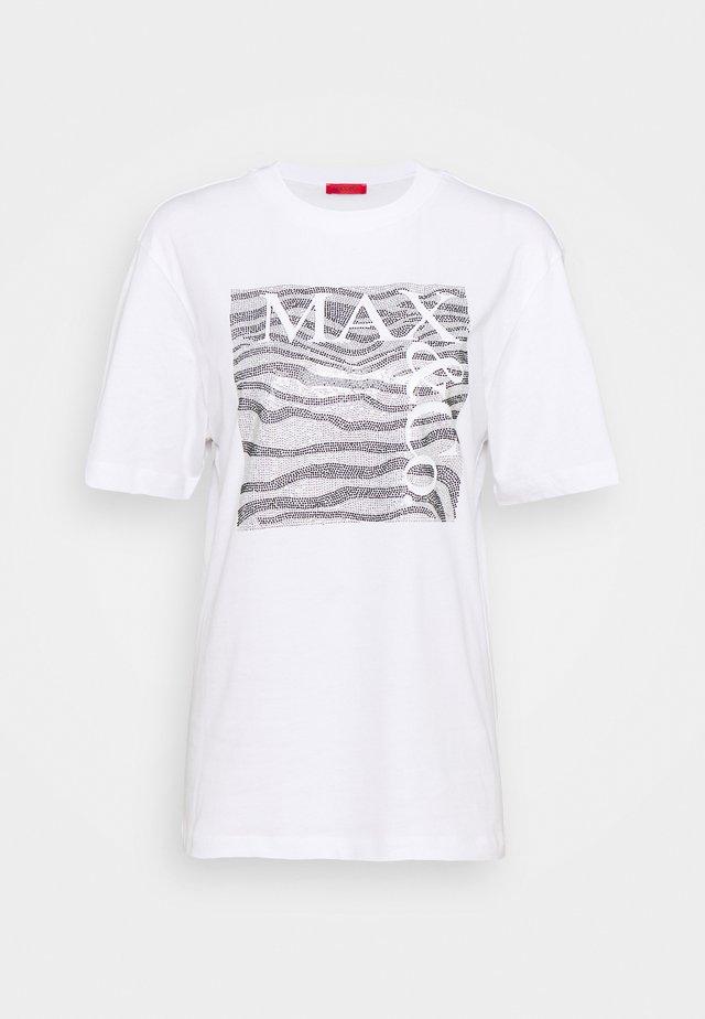 TEEREX - T-shirt print - white