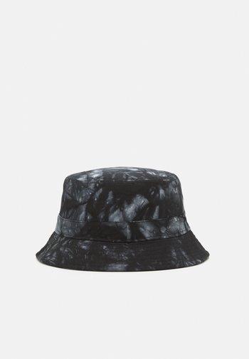 ONSHARRY TIE DYE BUCKET HAT UNISEX - Hatt - black/white