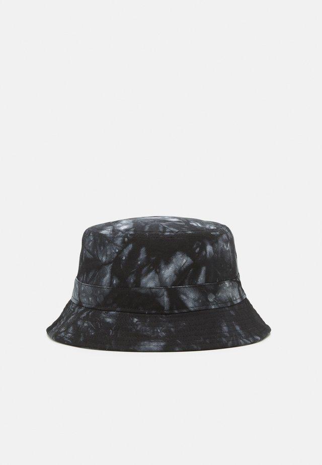 ONSHARRY TIE DYE BUCKET HAT UNISEX - Hoed - black/white
