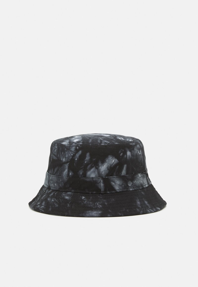 Only & Sons - ONSHARRY TIE DYE BUCKET HAT UNISEX - Hat - black/white
