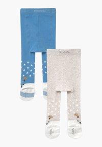 Ewers - BOY 2 PACK - Panty - grau/hellblau - 1