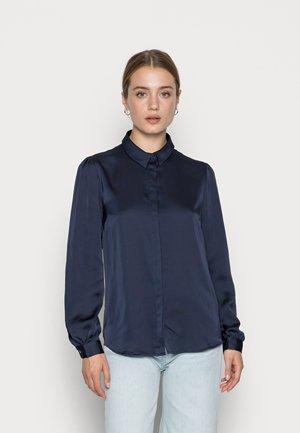 VIELLETTE - Button-down blouse - navy blazer