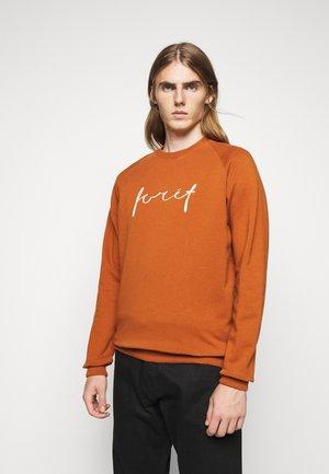 RACK - Sweatshirt - brick