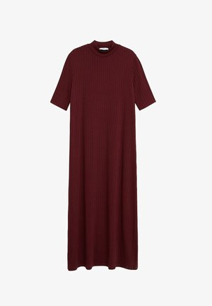 Maxi dress - lie de vin