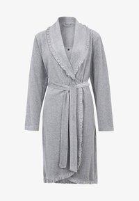ARIEL - Dressing gown - grau melange
