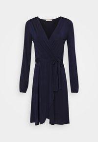 Jerseykjole - dark blue