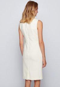 BOSS - DACRIBA - Shift dress - natural - 2