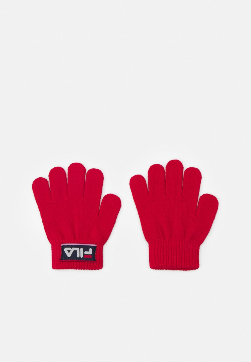 Fila - TAPED GLOVES UNISEX - Gloves - true red