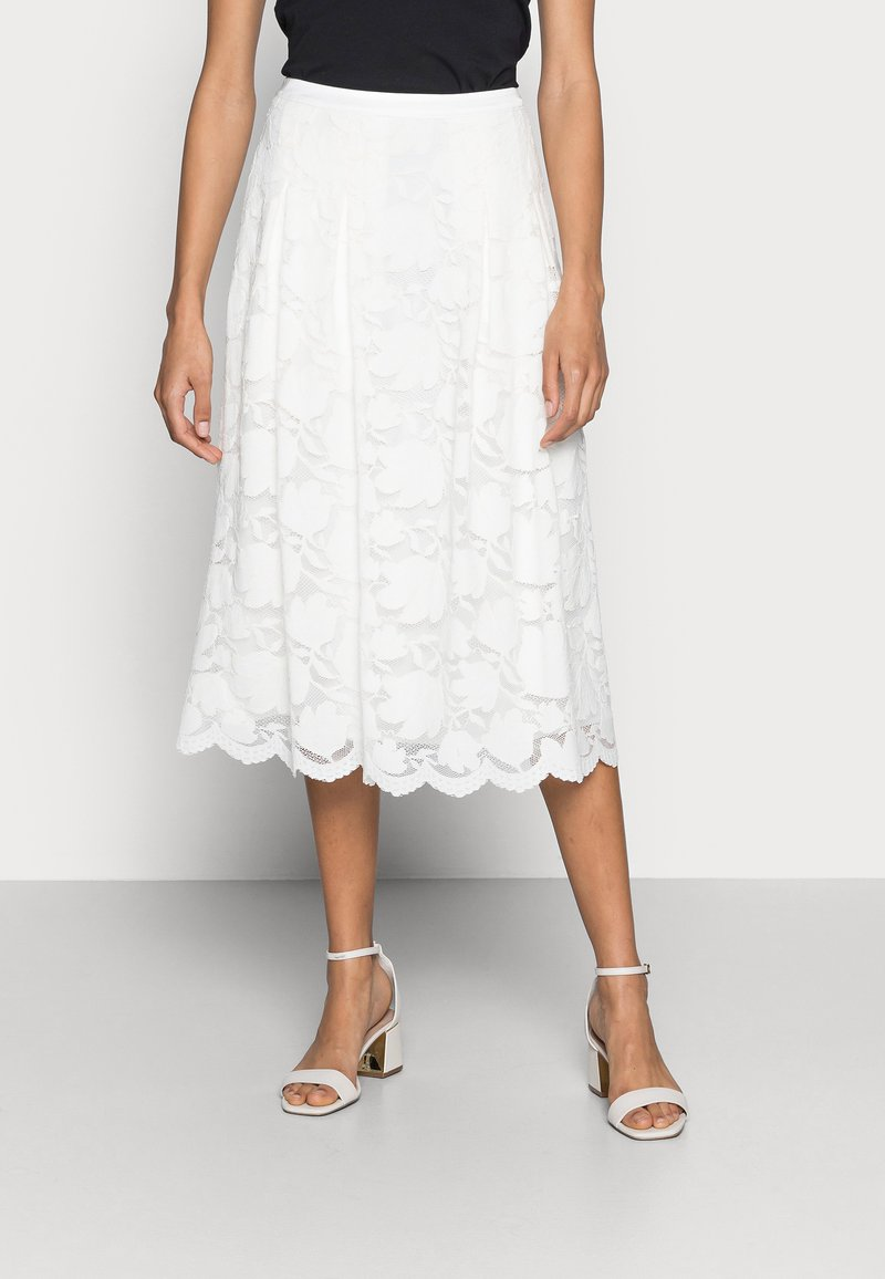 Esprit Collection - SKIRT - A-line skirt - off white