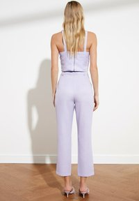 Trendyol - PARENT - Pantalones - purple - 2