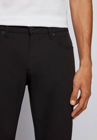 BOSS - DELAWARE - Slim fit jeans - black - 3