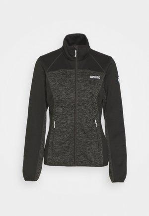 LINDALLA II - Fleece jacket - black