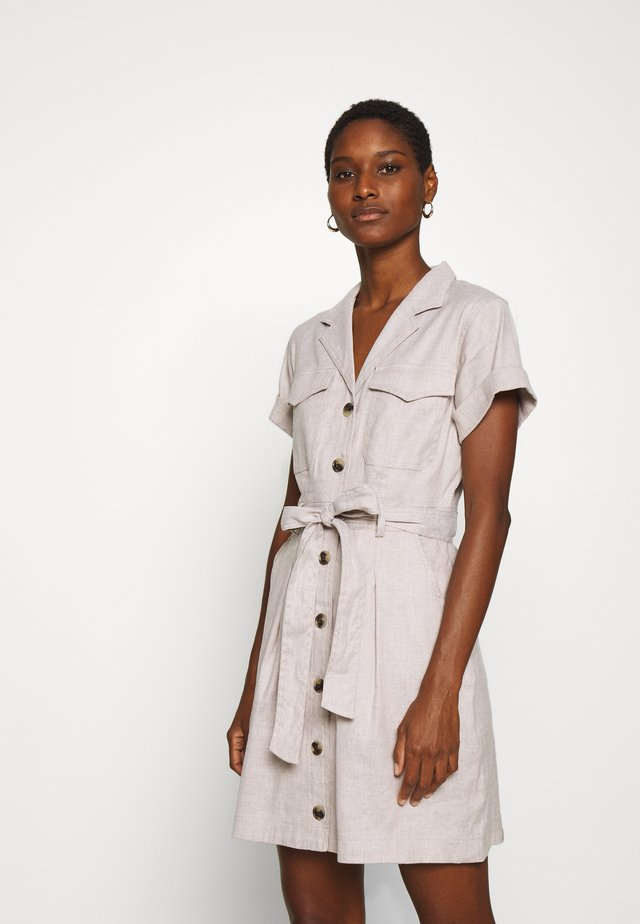 UTILITY - Shirt dress - ecru