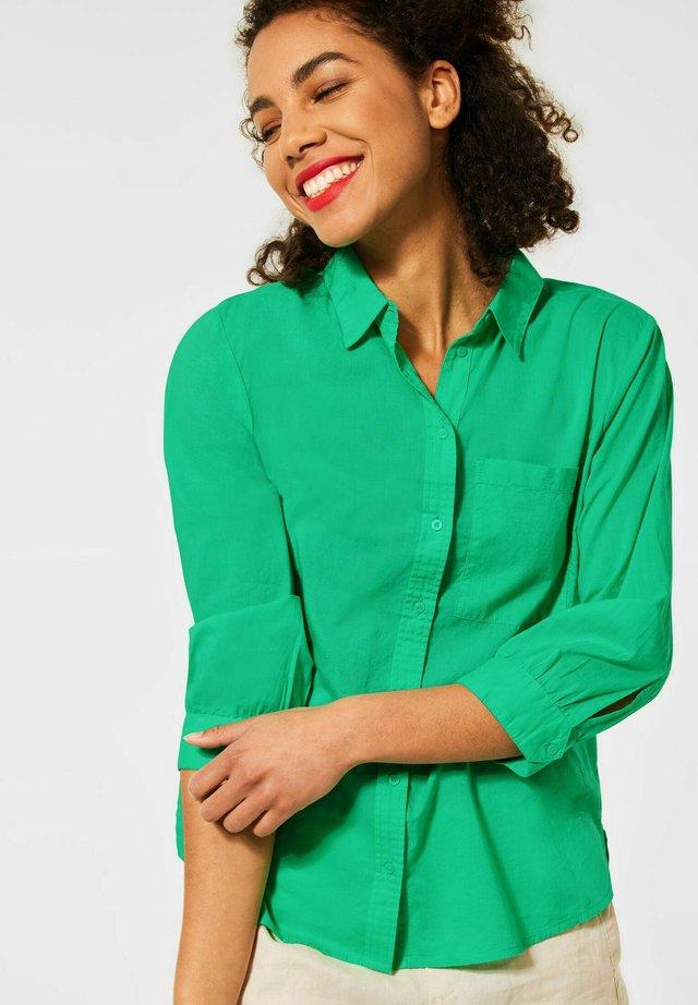 Overhemdblouse - grün