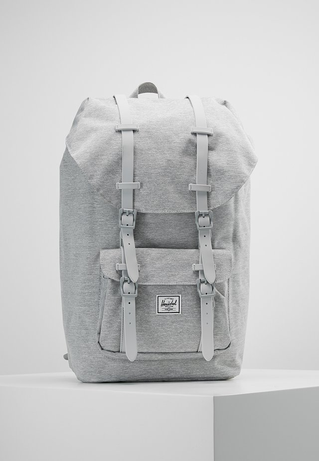 LITTLE AMERICA - Rucksack - light grey/grey
