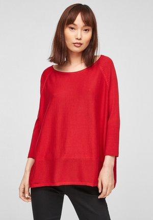 Pullover - true red
