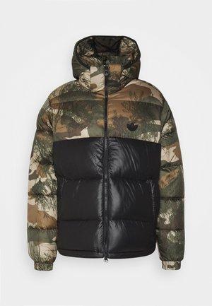 CAMO UNISEX - Gewatteerde jas - mucoca/black