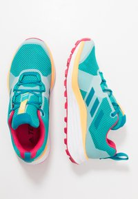 adidas Performance - TERREX TWO - Løbesko trail - turquoise/active teal/solar gold - 1