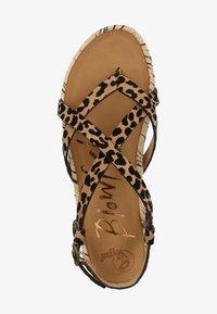 Blowfish Malibu - VEGAN GRANOLA - T-bar sandals - sahara leopard 336 - 1