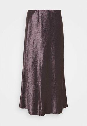 ALESSIO - Áčková sukně - malva