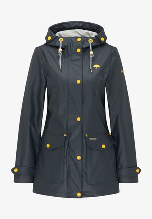 Waterproof jacket - dunkelmarine