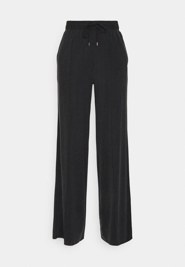 ELPIDIA - Trousers - black