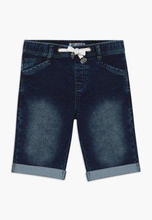 TEEN BOYS BERMUDA - Denim shorts - dark blue