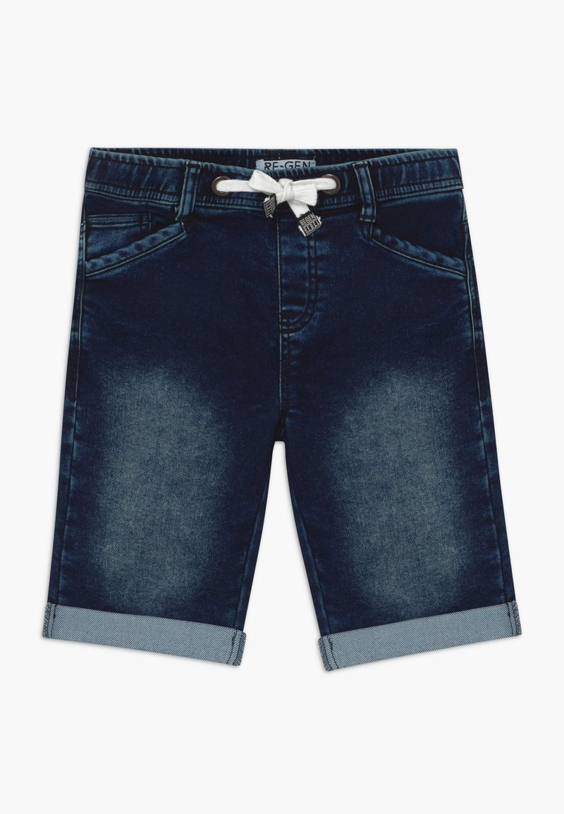 Re-Gen - TEEN BOYS BERMUDA - Farkkushortsit - dark blue
